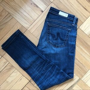 AG stilt cigarette leg - ankle length jean